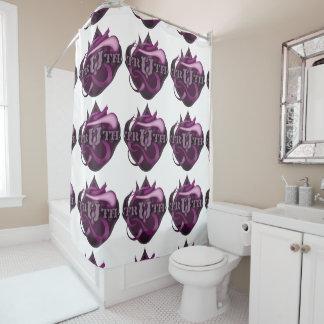 シャワー・カーテンの真実のロゴ シャワーカーテン