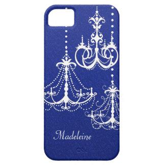 シャンデリアのかわいいおもしろいのお洒落でガーリーなデザインカバー iPhone SE/5/5s ケース