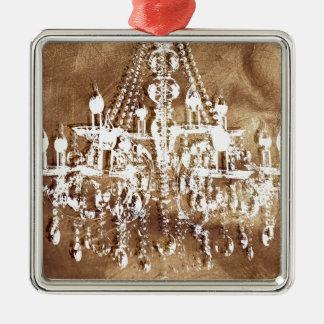 シャンデリアの銅の上品 メタルオーナメント