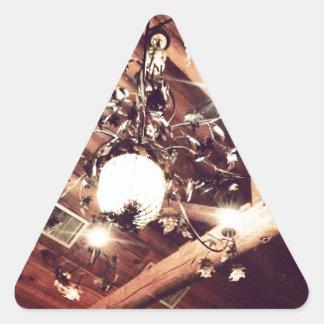 シャンデリア 三角形シール