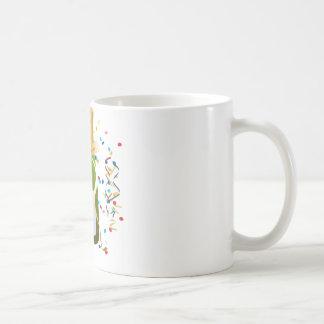 シャンペンのお祝い コーヒーマグカップ