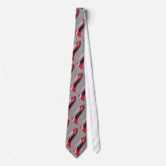 シャンペンのかかとの赤い小剣の靴の芸術の衣類 オリジナルネクタイ
