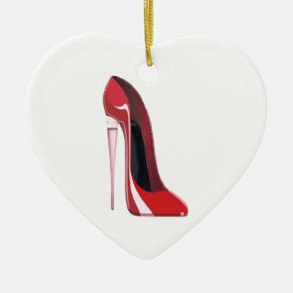 シャンペンのかかとの赤い小剣の靴の芸術 セラミックオーナメント
