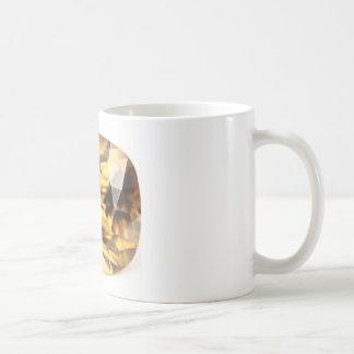 シャンペンのジルコン コーヒーマグカップ