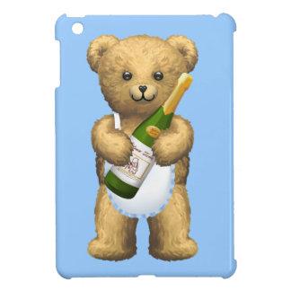 シャンペンのテディー・ベア iPad MINI カバー
