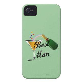 シャンペンのトーストの花婿介添人 Case-Mate iPhone 4 ケース