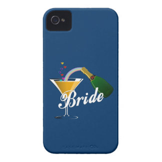 シャンペンのトーストの花嫁 Case-Mate iPhone 4 ケース
