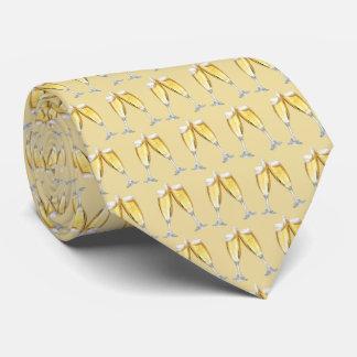 シャンペンのトースト ネクタイ