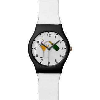 シャンペンのトースト 腕時計
