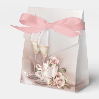 シャンペンの結婚式 フェイバーボックス