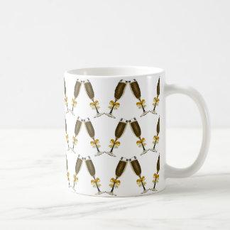 シャンペンガラスおよびシャンペン コーヒーマグカップ
