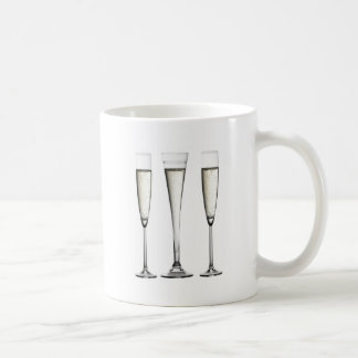 シャンペンガラス コーヒーマグカップ