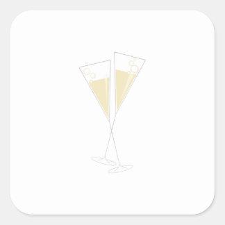 シャンペンガラス スクエアシール
