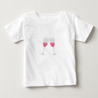 シャンペンガラス ベビーTシャツ