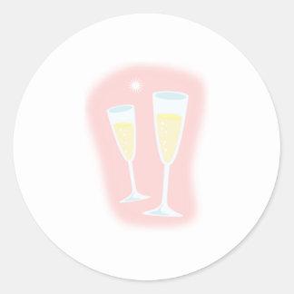 シャンペンガラス ラウンドシール