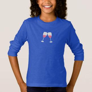 シャンペンガラス Tシャツ