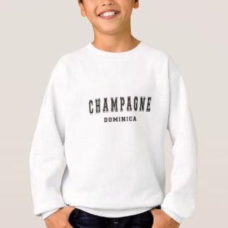シャンペンドミニカ スウェットシャツ