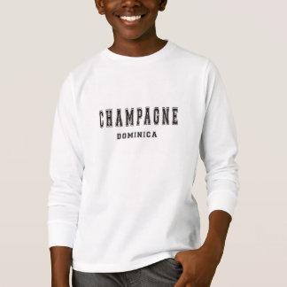 シャンペンドミニカ Tシャツ