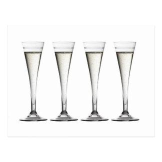 シャンペンフルート ポストカード