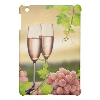 シャンペン2つのガラス iPad MINIケース