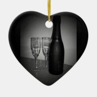 シャンペン セラミックオーナメント
