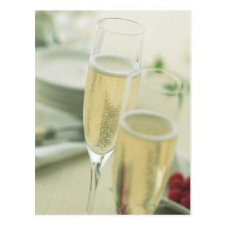 シャンペン ポストカード