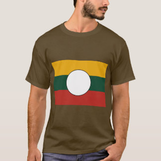 シャン族の州、ミャンマー Tシャツ