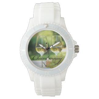 シャードネーワインの時間腕時計 腕時計