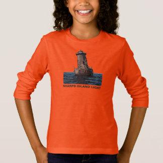シャープ島ライト Tシャツ