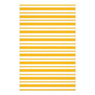 シャーベットのオレンジの細い縦縞 便箋