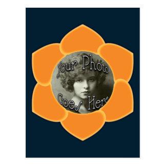 シャーベット及びサフランの花びら ポストカード