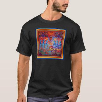 シャーマンの儀式Huichol Tシャツ