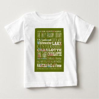 シャーロットの魅力そして有名な場所 ベビーTシャツ
