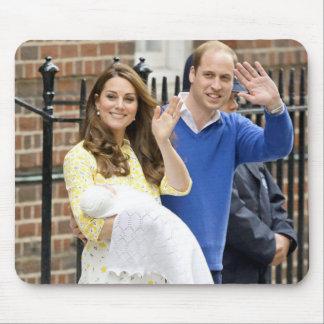 シャーロットエリザベスダイアナ-イギリスはKateを決定します マウスパッド