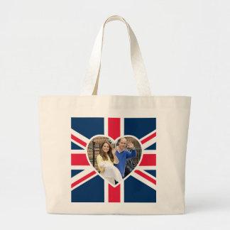 シャーロットエリザベスダイアナ-イギリスはKateを決定します ラージトートバッグ