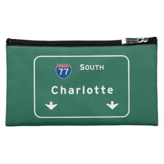 シャーロットノースカロライナNCの州間幹線道路: コスメティックバッグ