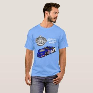 シャーロット青いはさみ金のワイシャツ Tシャツ
