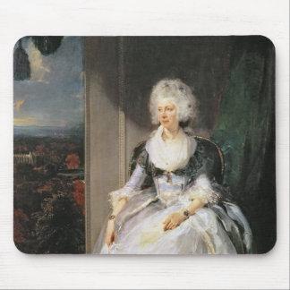 シャーロット1789-90年のジョージ三世の妻女王 マウスパッド