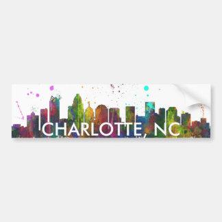 シャーロット、ノースカロライナのスカイライン バンパーステッカー