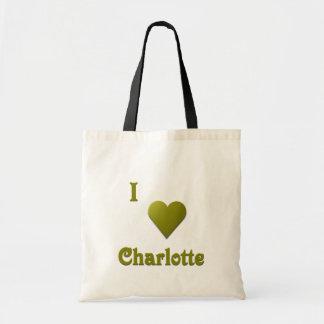 シャーロット -- 深緑 トートバッグ
