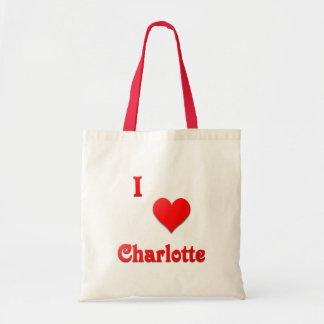 シャーロット -- 赤い トートバッグ