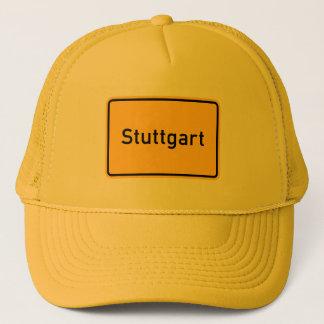 シュトゥットガルト、ドイツの交通標識 キャップ