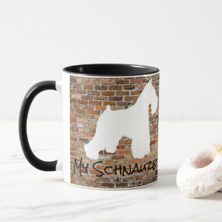 シュナウツァーのコーヒー・マグ マグカップ