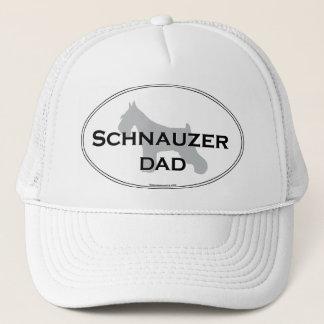 シュナウツァーのパパ キャップ