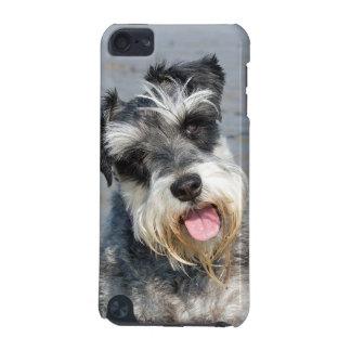 シュナウツァーのミニチュア犬のかわいい写真のポートレート、ギフト iPod TOUCH 5G ケース