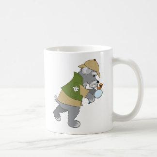 シュナウツァーの探偵 コーヒーマグカップ