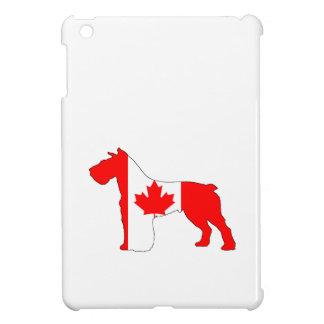 シュナウツァーカナダ iPad MINI CASE