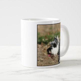 シュナウツァー犬 ジャンボコーヒーマグカップ