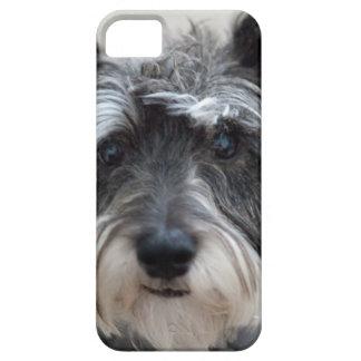 シュナウツァー犬 iPhone SE/5/5s ケース