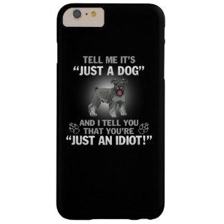 シュナウツァー-ちょうど犬! BARELY THERE iPhone 6 PLUS ケース